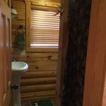 Eagles Nest Cabin Loft Bathroom