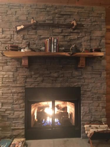 Eagles Perch Fireplace